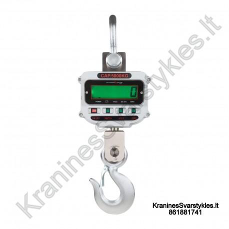 Kraninės svarstyklės Steinberg Systems 5000 kg LCD