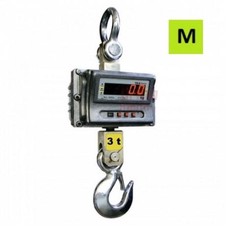 Kraninės svarstyklės su metrologine patikra | 3T LED