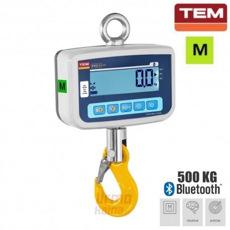 Kraninės svarstyklės su metrologine patikra TEM 500KG